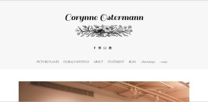 corynne ostermann site screenshot
